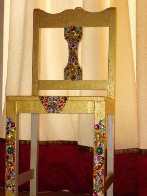 декор стула  мастер-класс
