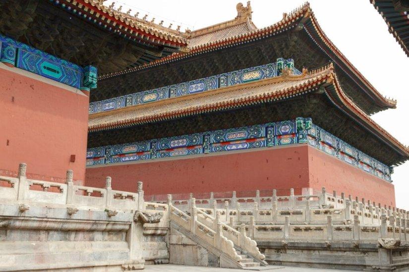 Зал Покоя и Зал Жертвоприношений, Храм Императорских Предков, Пекин