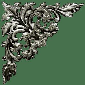 декоративные элементы «уголки белые,чёрные,серебро,золото ...