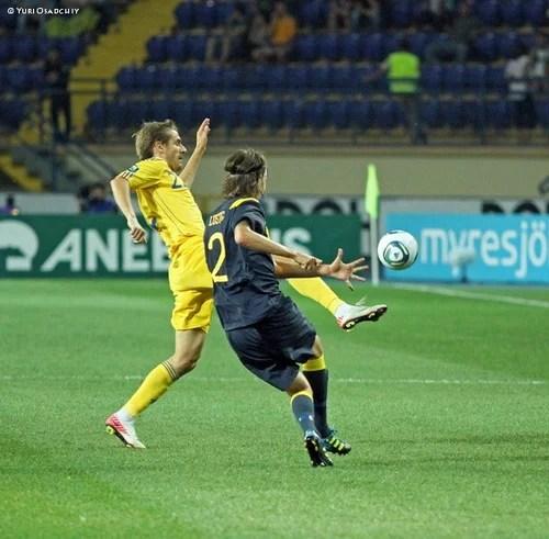 Ukraine - Sweden national teams football match