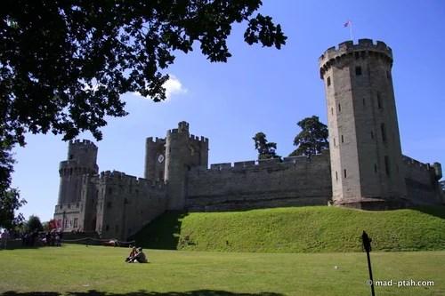 Англия - Уорикский замок, часть 1 : Путевые заметки птаха