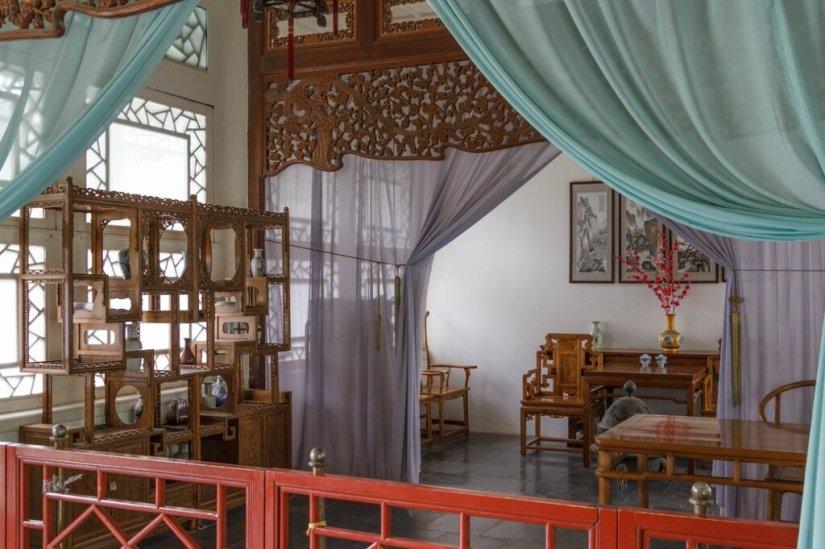 китайский интерьер, китайская мебель