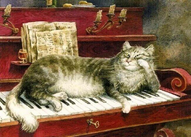 Теплые клавиши