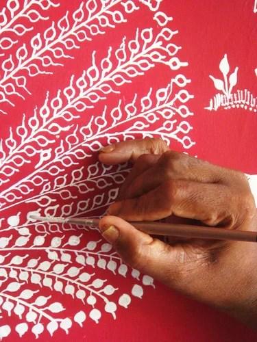 индийские узоры роспись
