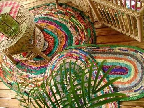 вязание крючком в интерьере