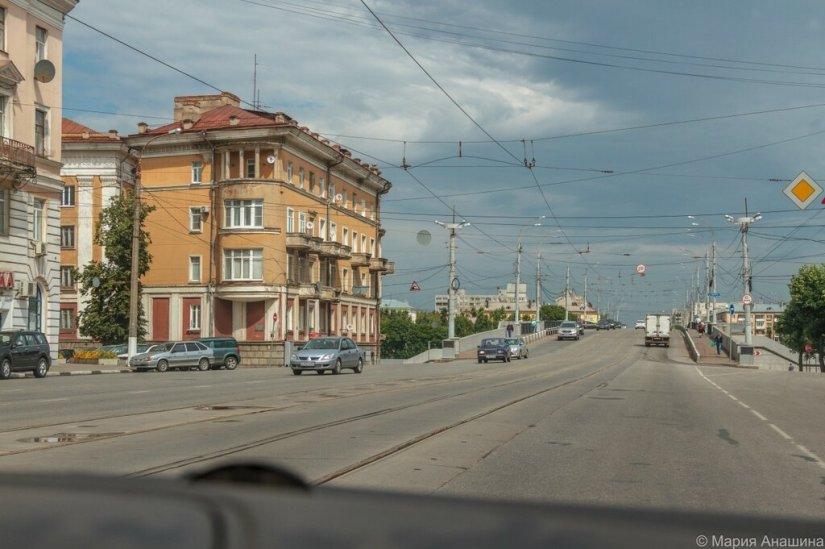 Тверской проспект и Нововолжский мост