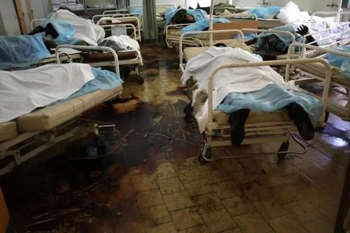 EDS NOTE GRAPHIC CONTENT-- Dead bodies l
