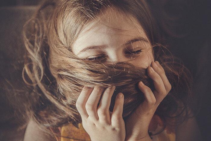 Длинноволосая девчонка. Автор фотографии: Галина Долгих.