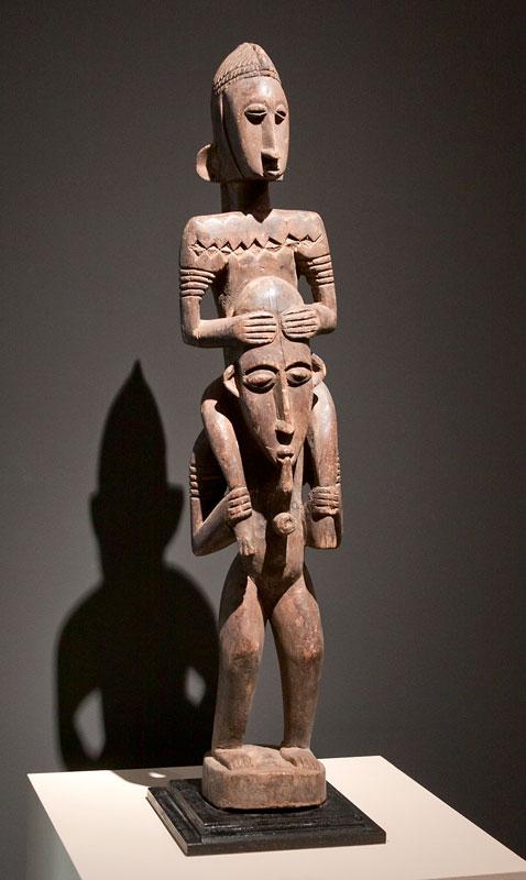 A figure depicting the ancestors, Mali.