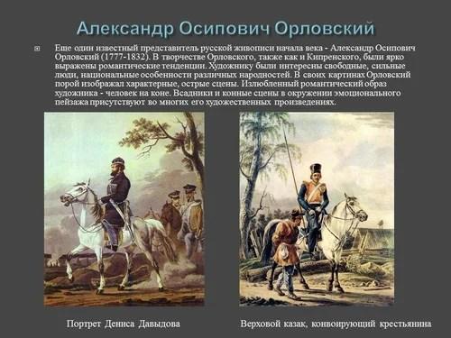 Русская живопись первой половины XIX века