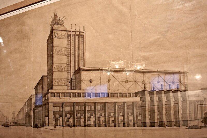 Здание театра Мейерхольда. Конкурсный проект