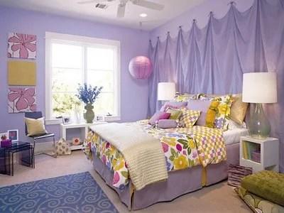 филетовая спальня