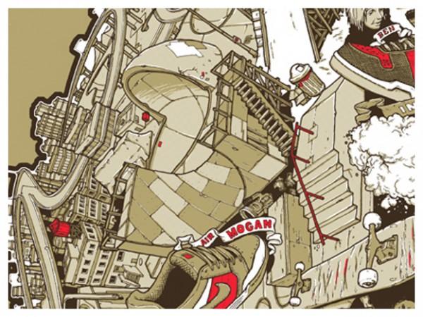 Спортивная графика by Adam Haynes. Полсотни иллюстраций