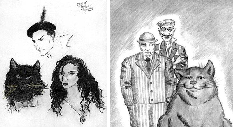 Персонажи мастер и маргарита в картинках