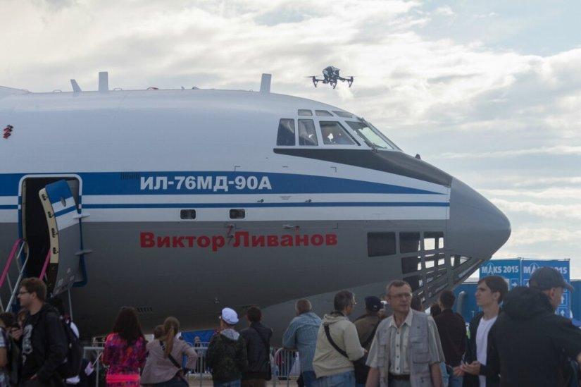 Ил-76МД-90А, МАКС-2015