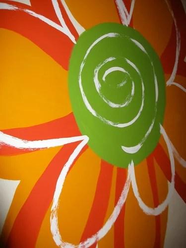 роспись на стенах детской