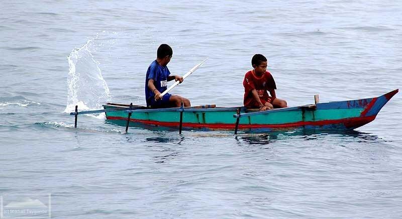 Лодки Папуа