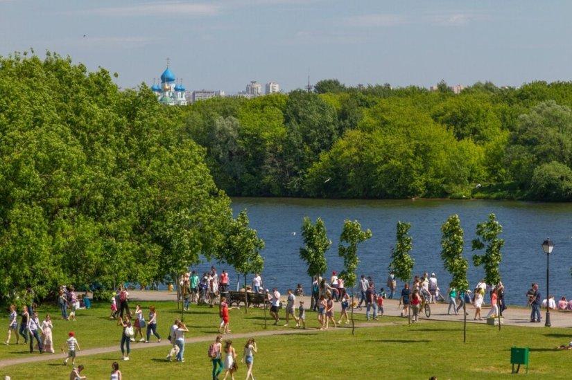 Москва-река в Коломенском