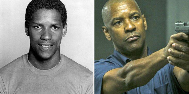 Дензел Вашингтон: «Точная копия» (1981) и «Великий уравнитель» (2014).
