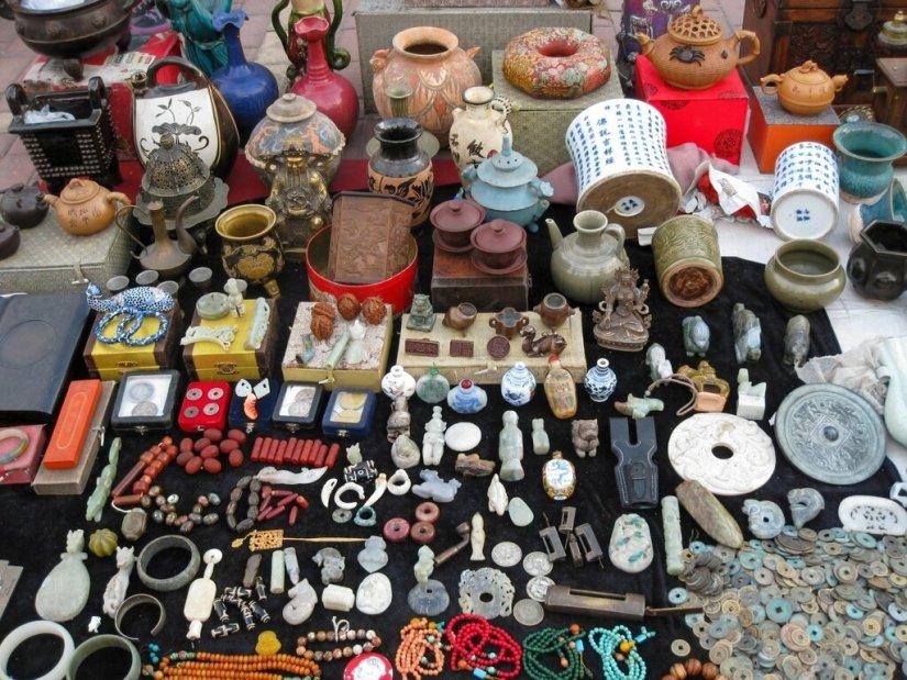 Антикварный рынок, Пекин