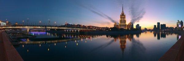 Панорама Москвы-реки: sergey_ershov — LiveJournal