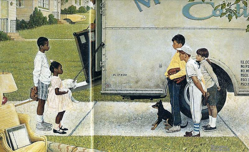 Norman Rockwell Teachers Birthday