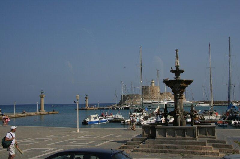 Родосская гавань