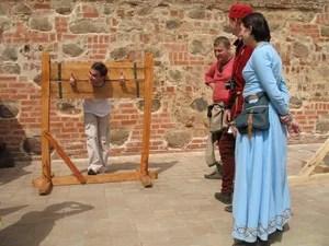 Фестиваль средневековой культуры в Мирском замке