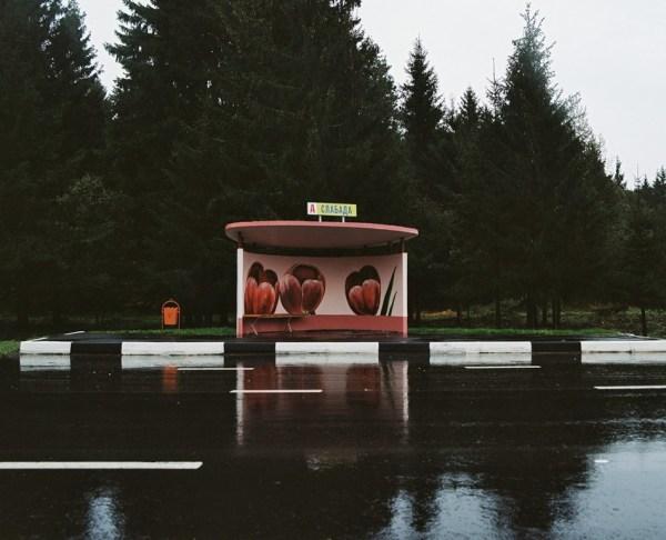 Шедевральные автобусные остановки в Белоруссии (15 фото ...
