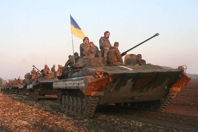 Фото: посилення силам АТО на сході України