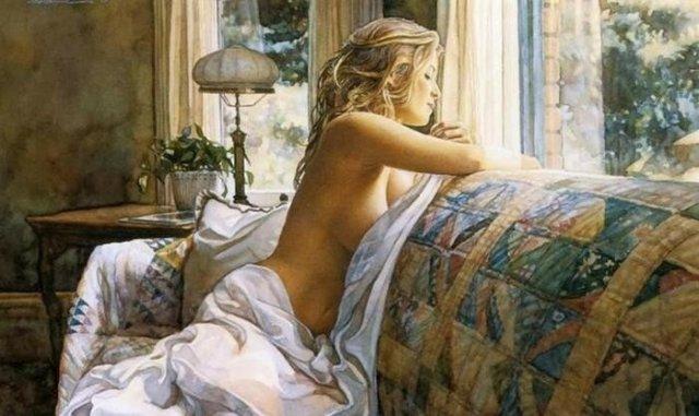 Краса жіночого тіла в 24 ніжних картинах сучасних художників