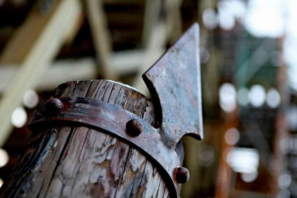 """Деревянные американские горки в Europa Park. Аттракцион """"Водан"""""""