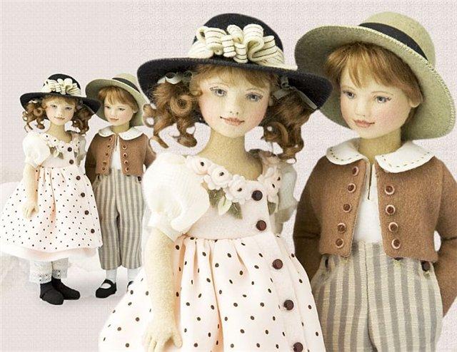 Maggie Iacono и её куклы из фетра