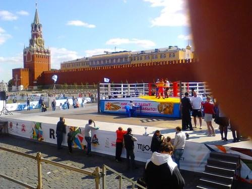 ГТО Красная Площадь 2012