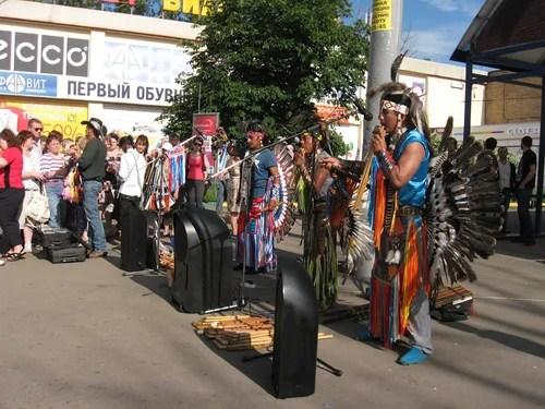 Индейцы из Эквадора. Группа Yarik Ecuador.