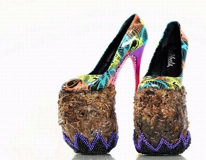 Гримасы моды. Туфли из слоновьего дерьма