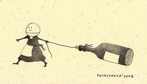 Книжная графика Натальи Поваляевой
