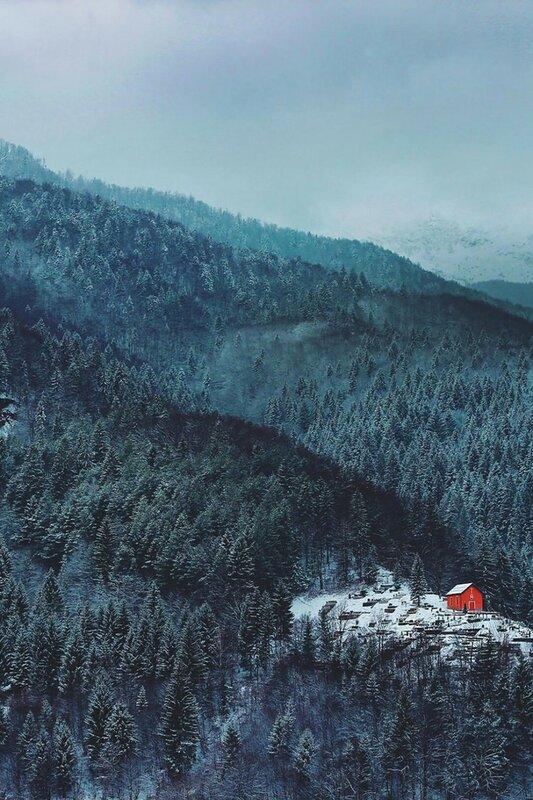 Фото уютных домов, в которые так и хочется сбежать после тяжелой рабочей недели