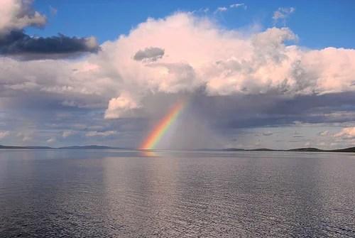 rainbow in karelia