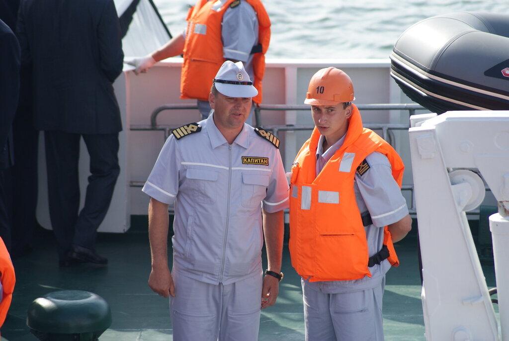служба на флоте, сын