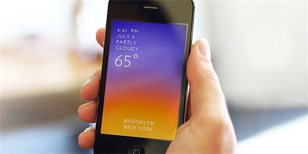 приложение Solar для iPhone