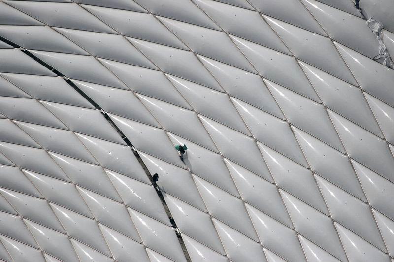 Небо, Сессна, фотокамера. Аэрофотосъёмка  Клауса Лейдорфа / Klaus Leidorf