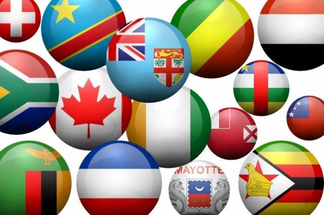 Флаги. Наборы аватарок значков в PNG