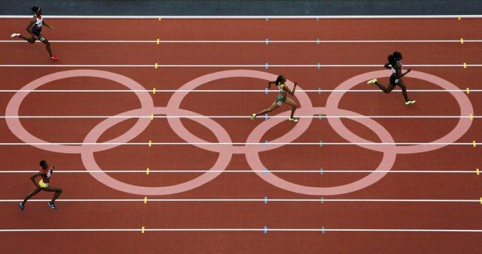Лучшие кадры Олимпиады (много отличных фотографий)