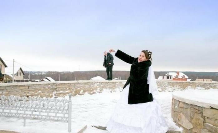 Как не надо снимать свадьбу. Идиотские свадебные фотографии