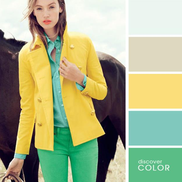 Сервис подбора идеальных сочетаний цвета в одежде