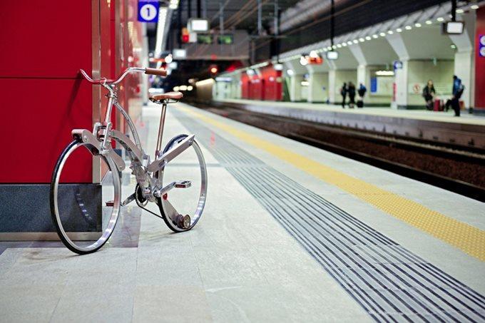 Sada Bike, необычный раскладной велосипед