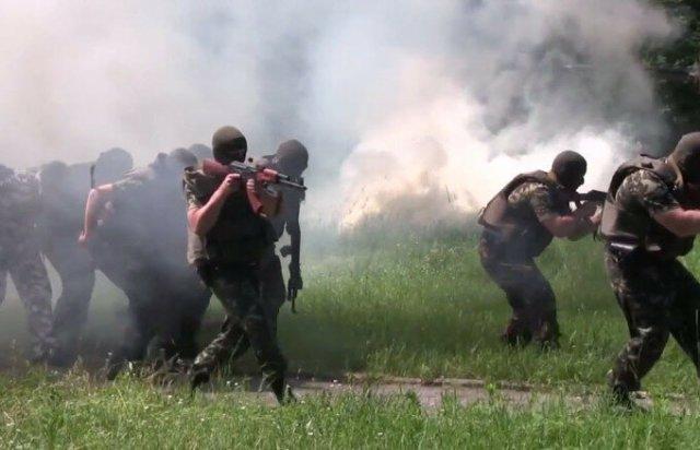 Видео. Тренировки батальона «Слобожанщина»