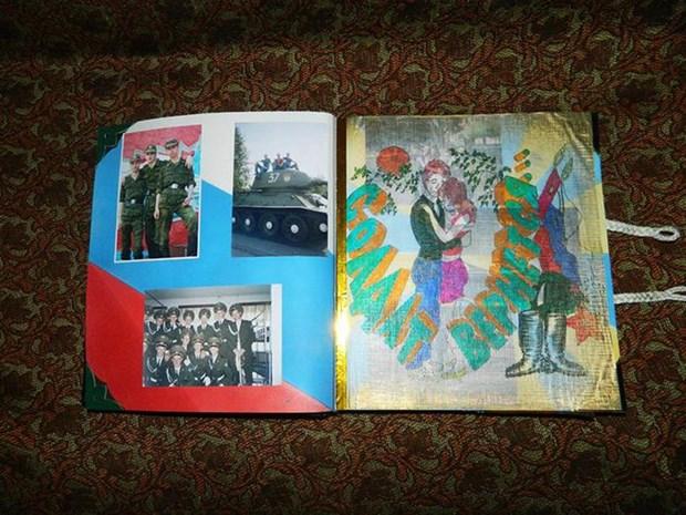 Креативные дембельские альбомы. День защитника Отечества