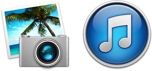 Перенос медиатеки iTunes и iPhoto на внешний диск